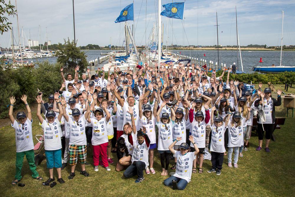 Hoffnungsflotte des Vereins Sunshine for Kids